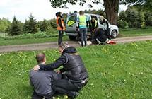 Handlebane: Førstehjælp ved trafikuheld